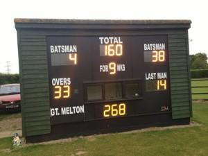 fakenham scoreboard